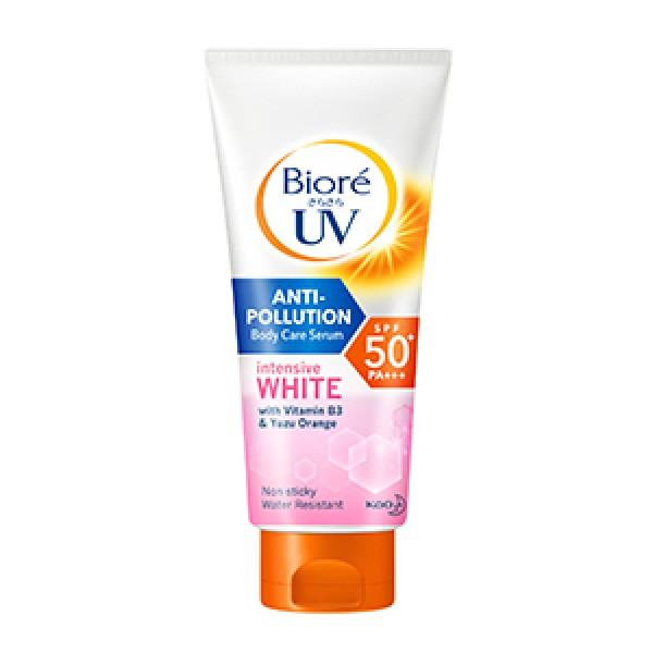 Biore UV Anti-Pollution Body Care Serum Intensive White SPF50+/PA+++